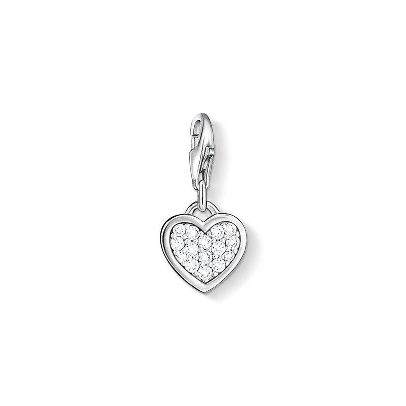Thomas Sabo Charm Pendant Glitter Heart