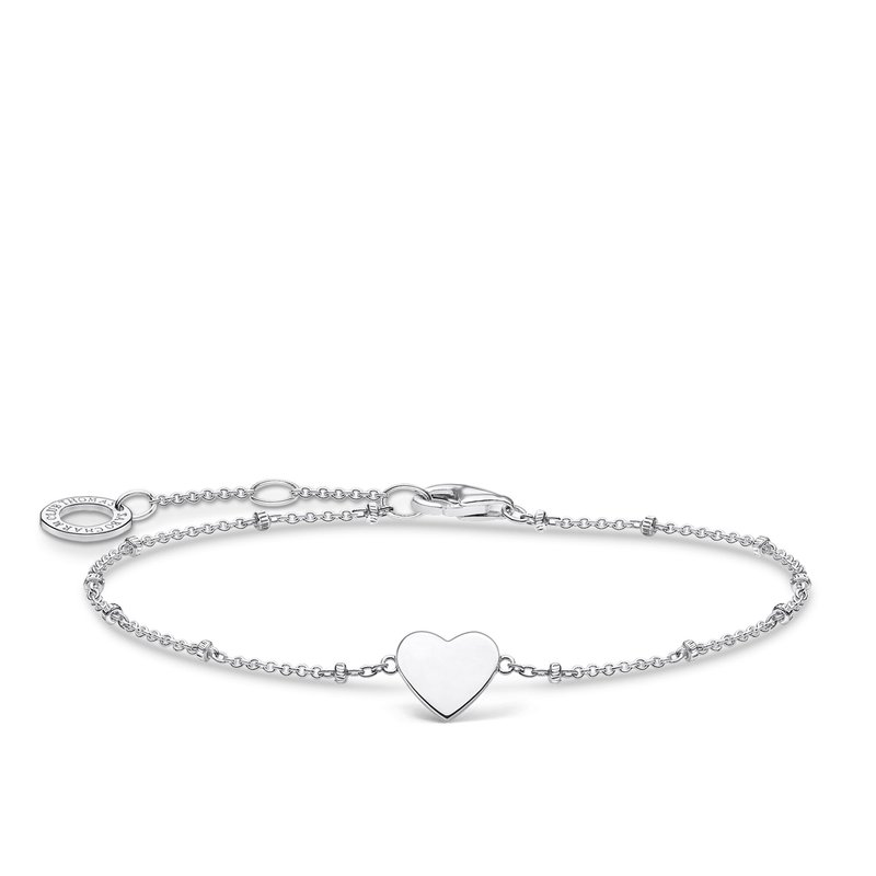 Thomas Sabo Bracelet Heart With Dots Silver