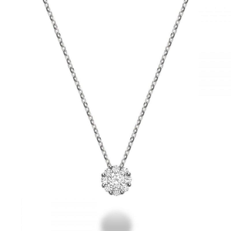 RNB Bijoux Jewellery Cluster Diamond Pendant