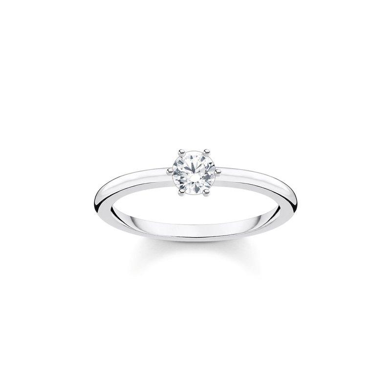 Thomas Sabo White Stone Ring