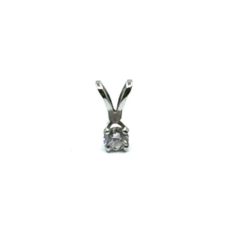 The Collection Solitaire Diamond Pendant
