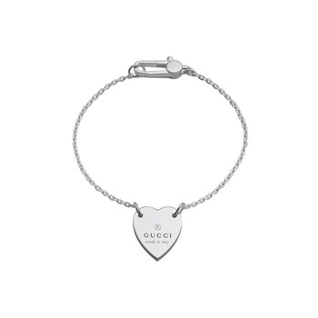Bracelet with Gucci trademark heart