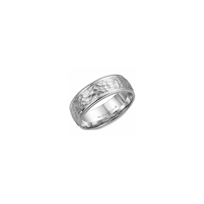Crown Ring  Carved Collection