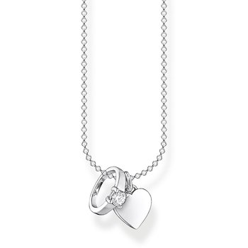 Necklace Ring with Heart