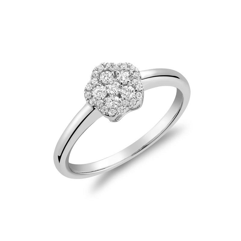 RNB Bijoux Jewellery Diamond Cluster Ring