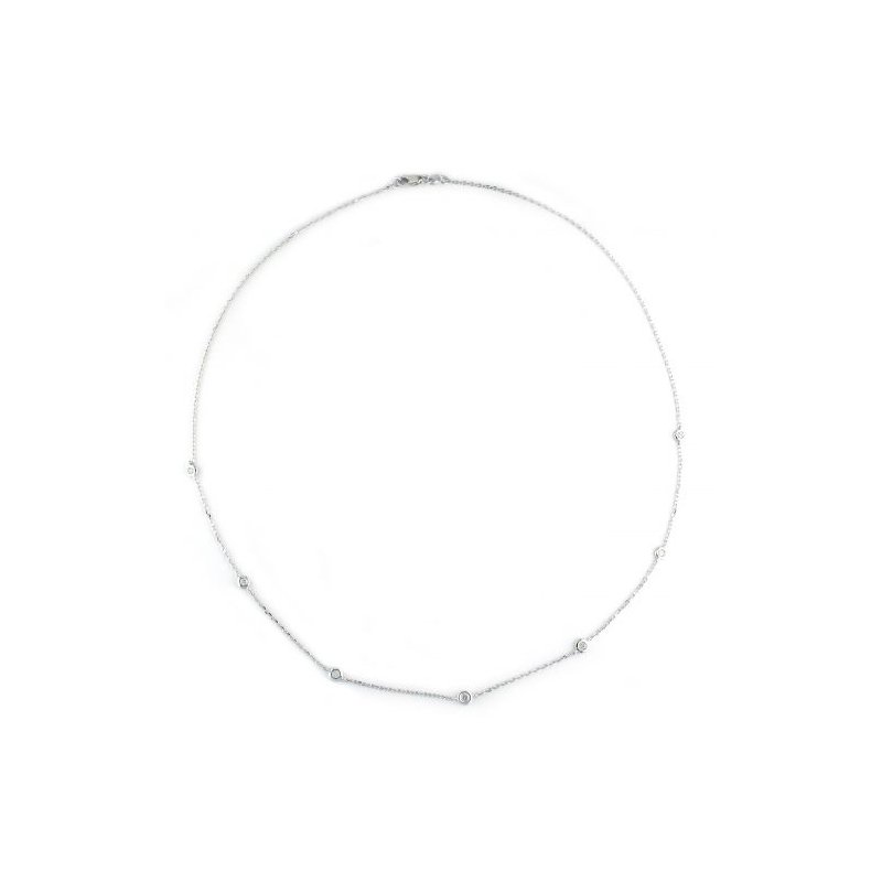 Kelley Collection  Diamond Chain Necklace