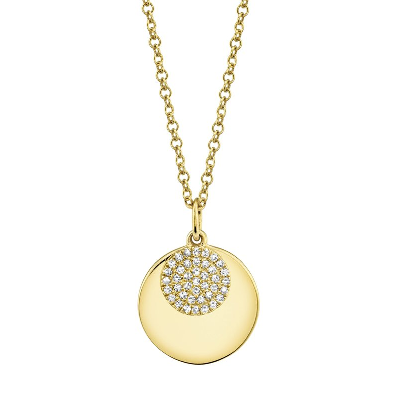Kelley Collection  Diamond Circle Necklace