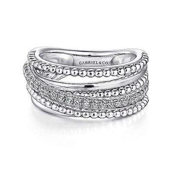 Bujukan Beaded Sapphire Ring