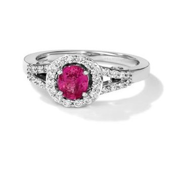 Passion Ruby™ Couture® Ring