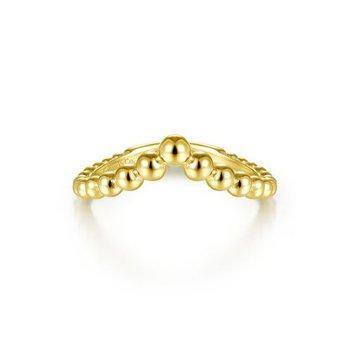 Bujukan Bead Chevron Ring