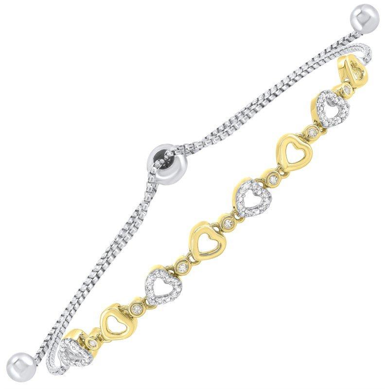Kelley Collection  Diamond Bolo Bracelet