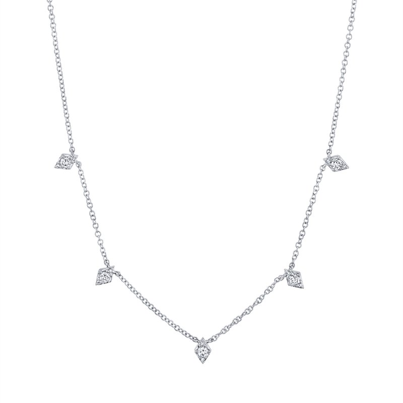 Kelley Collection  Diamond Station Necklace