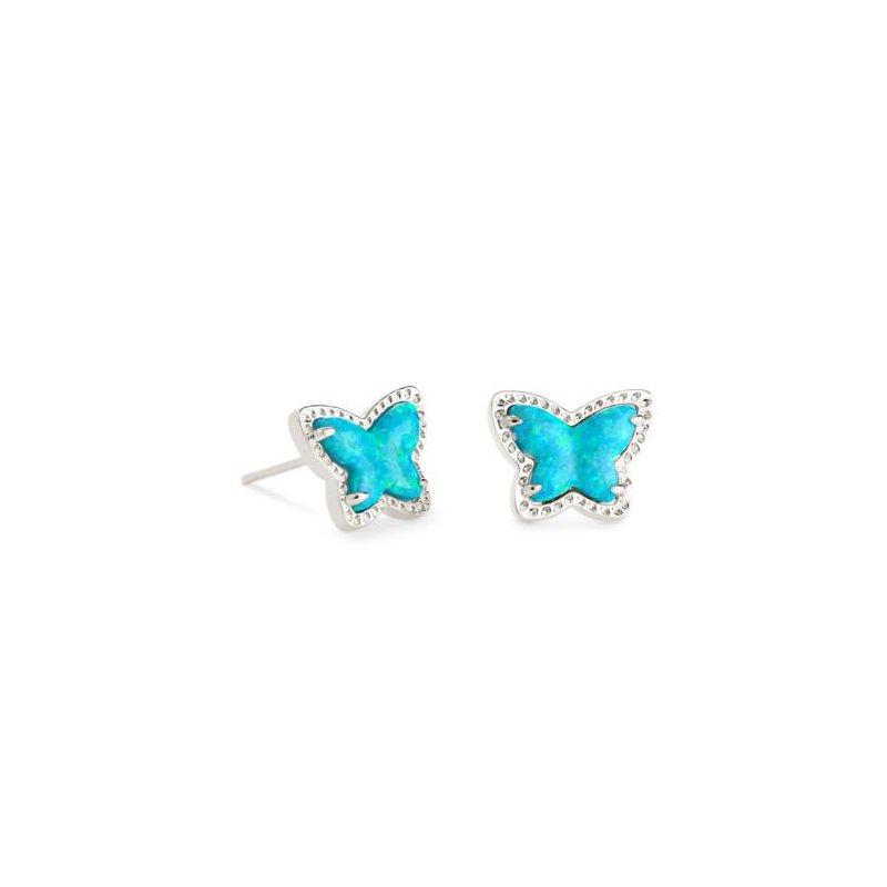 Kendra Scott Lillia Butterfly Studs in Turquoise Opal