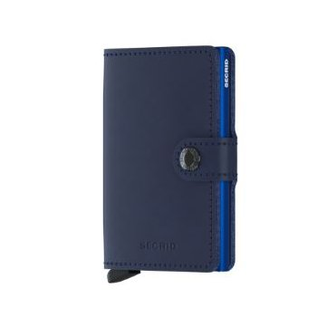 Miniwallet in Navy Blue