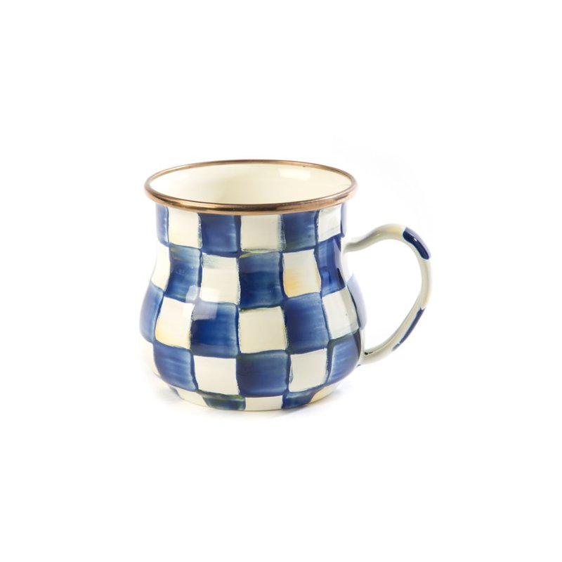 MacKenzie-Childs Royal Check Mug