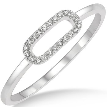 Paper Clip Link Ring