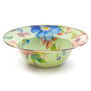 Flower Market Serving Bowl - Green