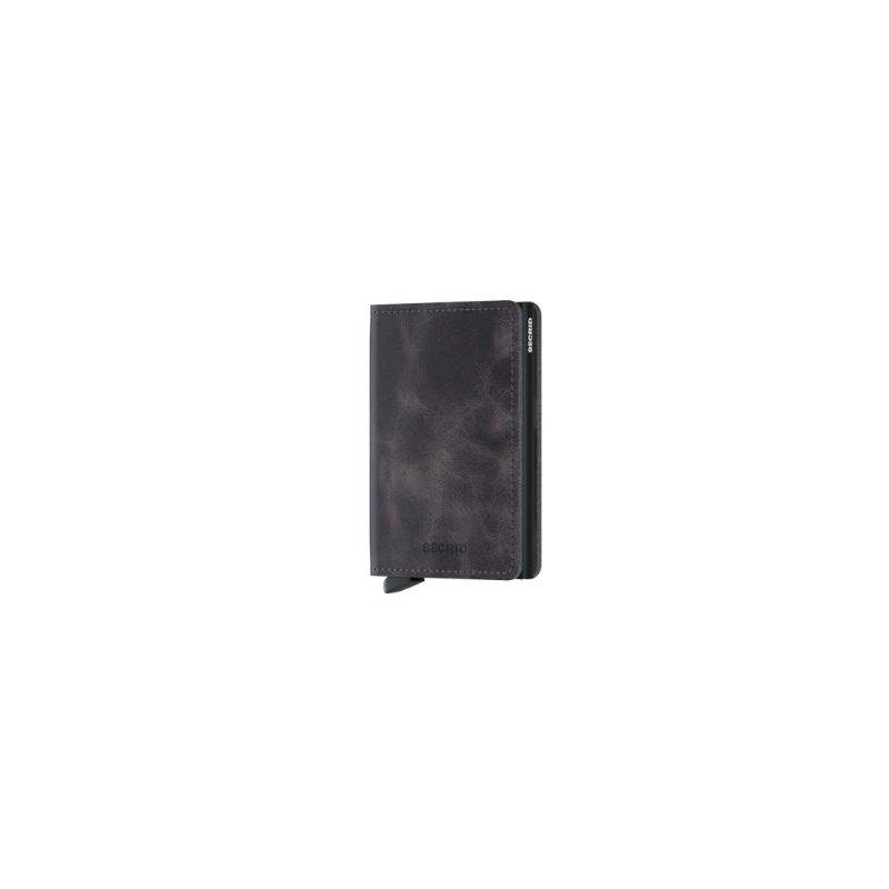 Secrid B.V. Slimwallet in Vintage Grey-Black