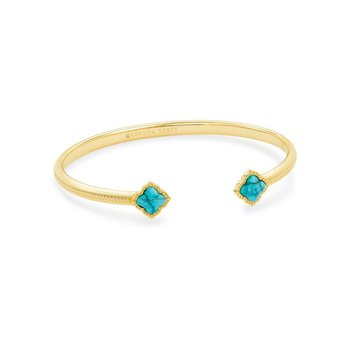 Mallory Cuff in Variegated Turquoise