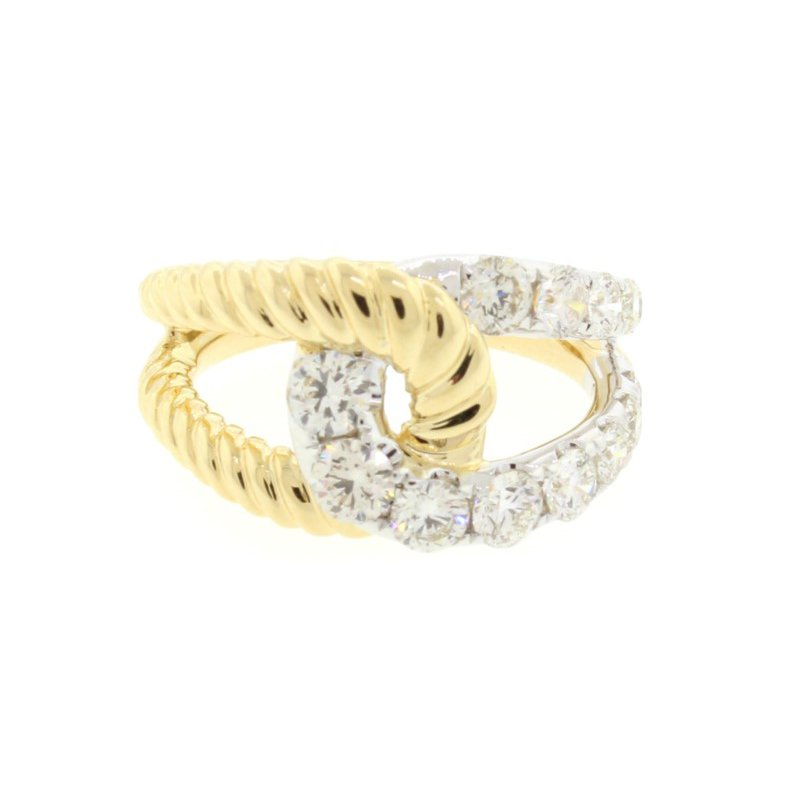 Kelley Collection  Interlocking Diamond Ring