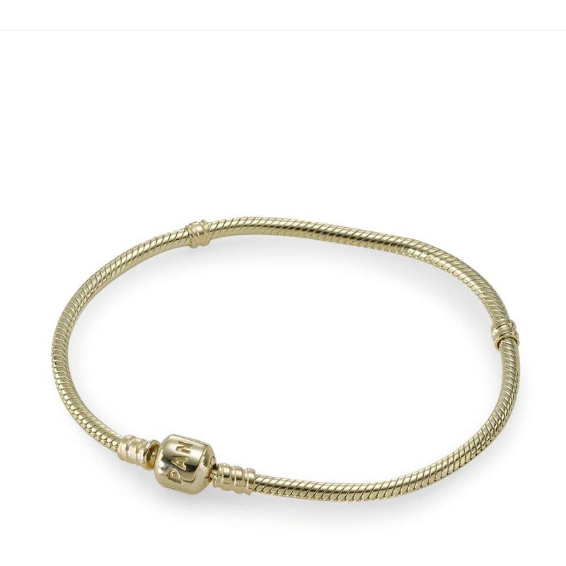 PANDORA Pandora Moments 14K Gold Clasp Bracelet