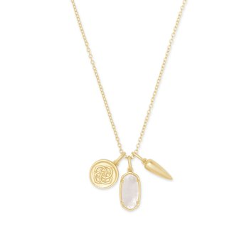 Dira Charms in Ivory Mother of Pearl