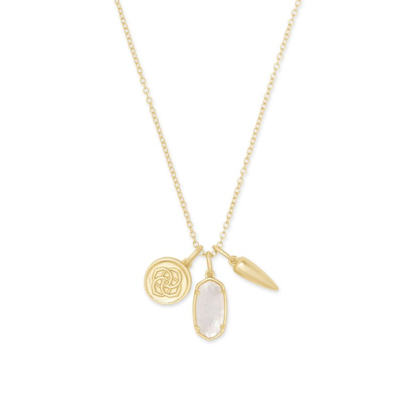 Kendra Scott Dira Charms in Ivory Mother of Pearl