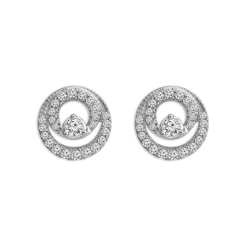 Kelley Collection  Close 2gether Diamond Earrings