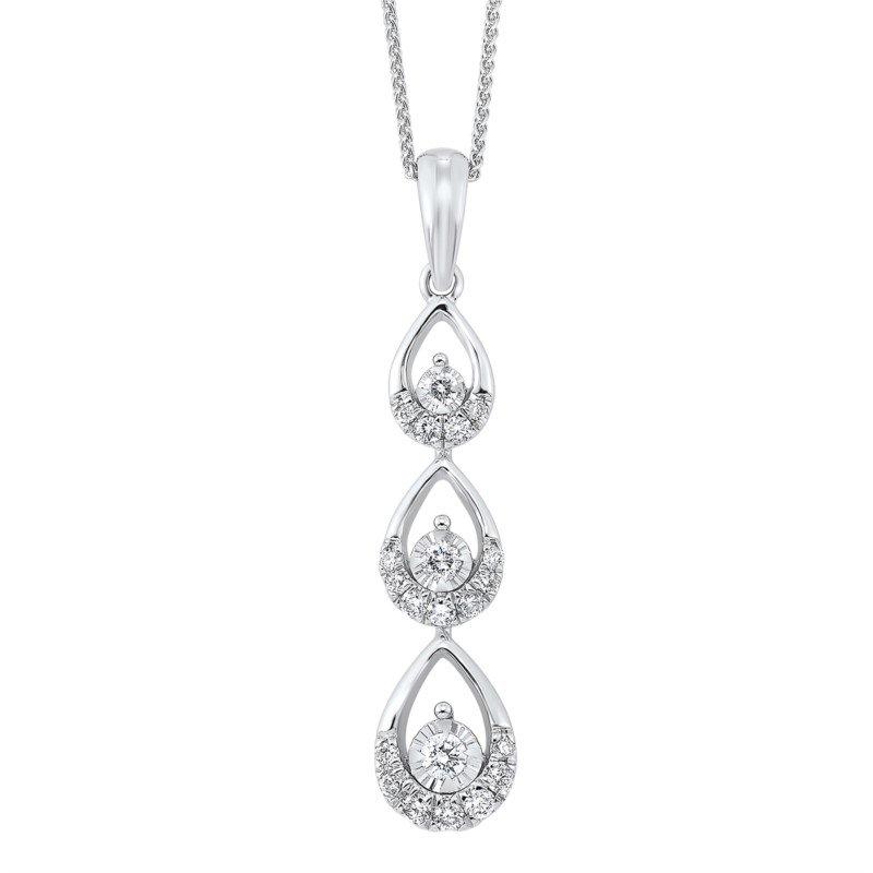 Kelley Collection  Diamond Drop Pendant