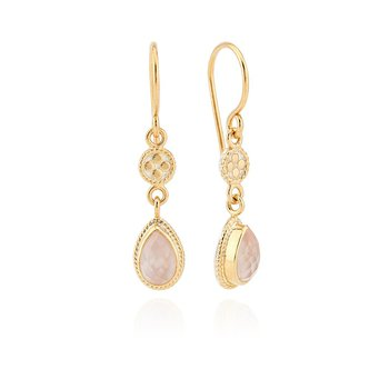 Guava Double Drop Earrings