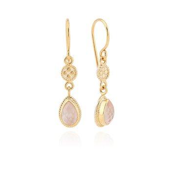 Guava Double Drop Earrings
