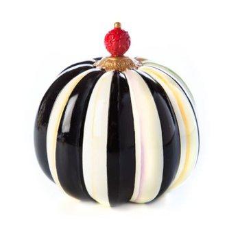 Finial Stripe Pumpkin - Mini