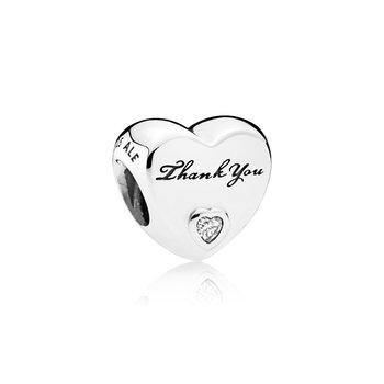 Thank You Heart Charm