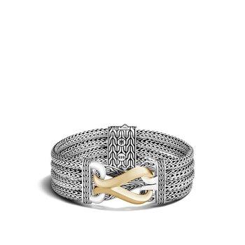 Asli Classic Chain Link Multi Row Bracelet