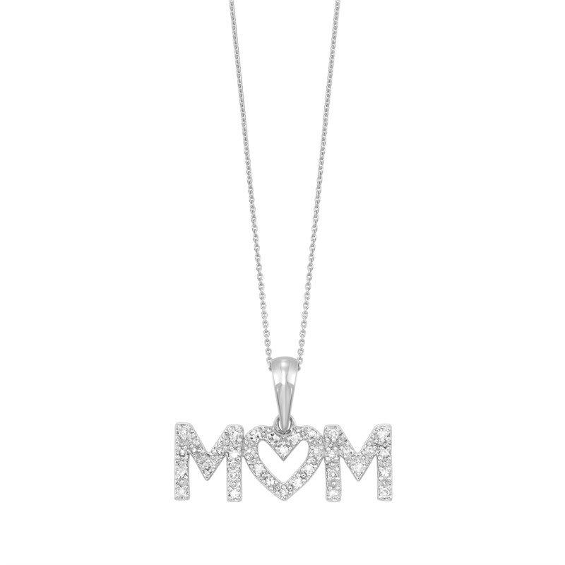 Kelley Collection  Diamond Mom Pendant