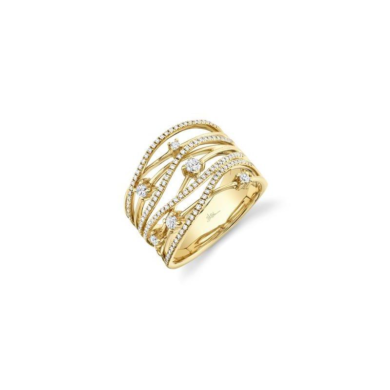 Kelley Collection  Diamond Criss Cross Ring