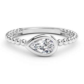 Tribute™ Collection Diamond Beaded Ring