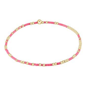 Hope Unwritten Bracelet - Pink