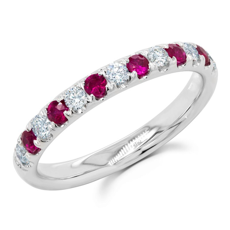 Kelley Collection  Diamond & Ruby Ring
