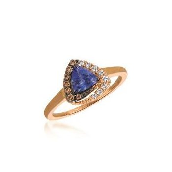 Blueberry Tanzanite® Chocolatier® Ring