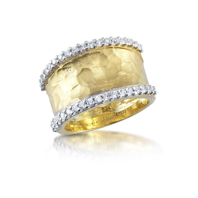 """Kelley Collection  Diamond """"Gallery"""" Ring"""