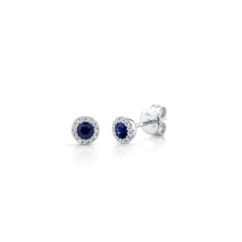 Kelley Collection  Sapphire & Diamond Earrings