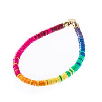 Seaside Skinny Disc - Ombre Rainbow