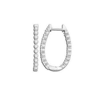 Inside Out Hoop Earrings