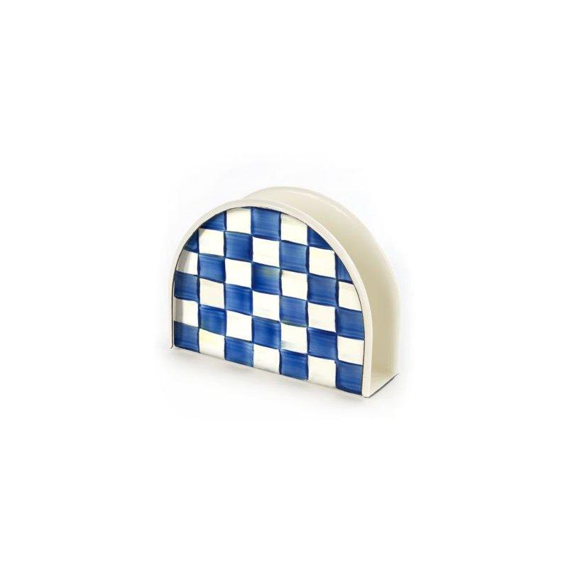 MacKenzie-Childs Royal Check Napkin Holder
