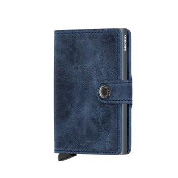 Miniwallet in Vintage Blue