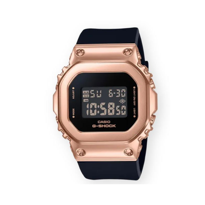 G-Shock Square 5600 Series in Rose Gold