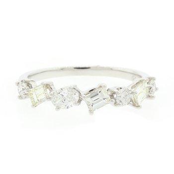 Mixed Shape Diamond Ring