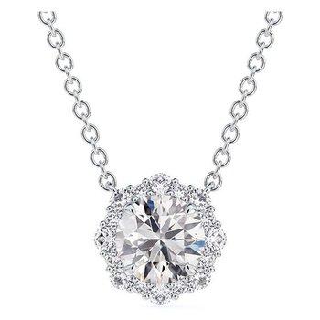 Center of My Universe® Halo Diamond Pendant