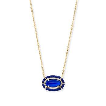 Threaded Elisa in Cobalt Blue Illusion
